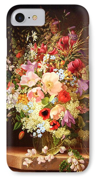 Dietrich's Still Life Of Flowers IPhone Case by Cora Wandel