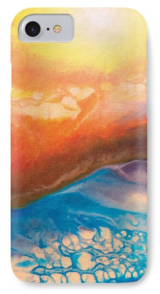 Disquieting Anticipation Phone Case by The Art of Marsha Charlebois