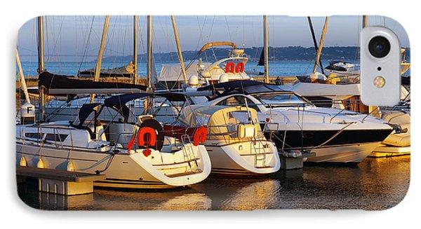 Docked Yachts Phone Case by Carlos Caetano
