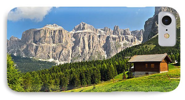 Dolomiti - High Fassa Valley IPhone Case