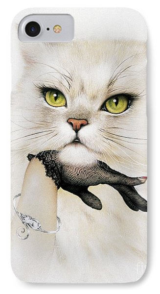 Domestic Cat, Conceptual Image IPhone Case by Smetek