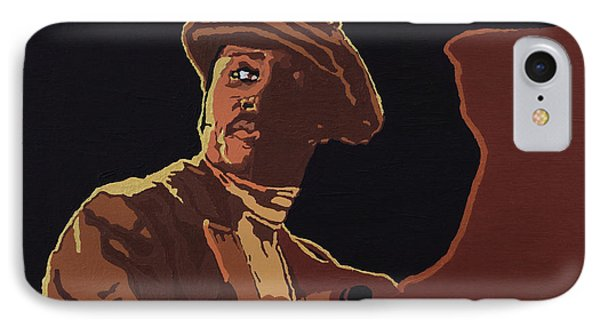 IPhone Case featuring the painting Donny Hathaway by Rachel Natalie Rawlins