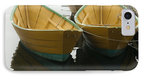 Dories At The Dock Phone Case by David Stone