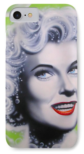 Doris Day Phone Case by Alicia Hayes