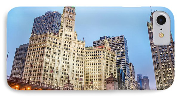 Downtown Chicago View IPhone Case by Jess Kraft
