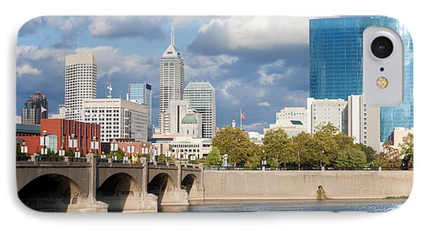 Downtown Indianapolis Indiana Phone Case by Anthony Totah