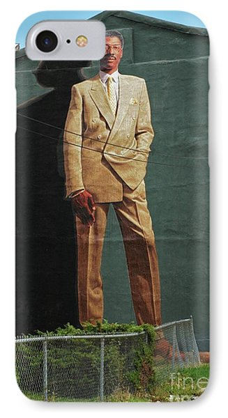 Dr. J. IPhone Case by Allen Beatty