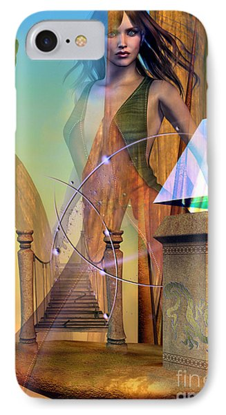 IPhone Case featuring the digital art Dragon Path by Shadowlea Is
