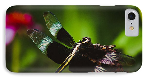 Dragonfly IPhone Case by Debra Crank