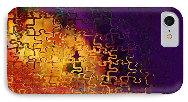 Dragon's Teeth Puzzle IPhone Case