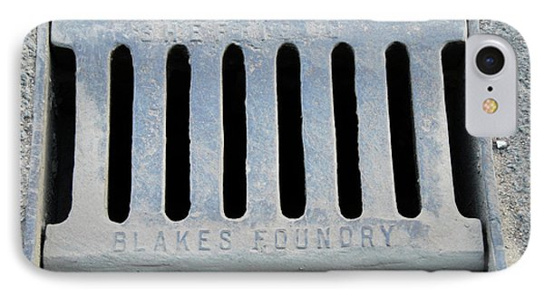 Drain Cover IPhone Case by Public Health England