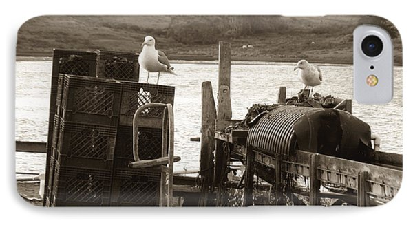 IPhone Case featuring the photograph Drakes Bay Oyster Farm by Hiroko Sakai