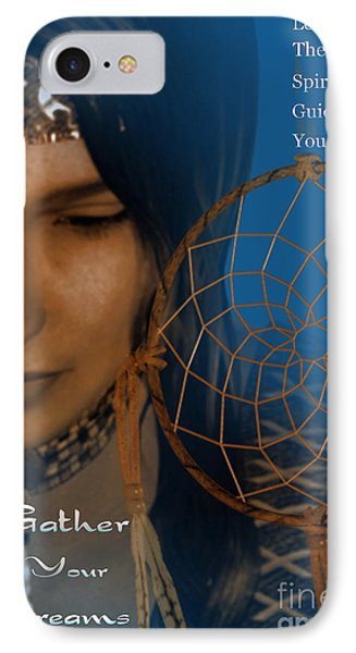 IPhone Case featuring the digital art Dream Catcher by Shadowlea Is
