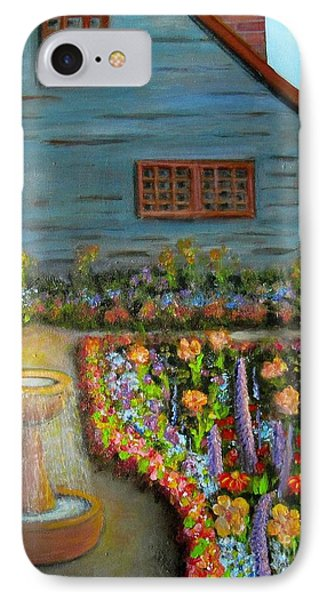 Dream Garden IPhone Case by Laurie Morgan