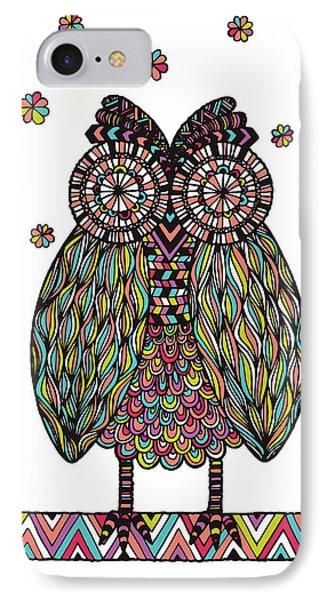 Dream Owl Phone Case by Susan Claire