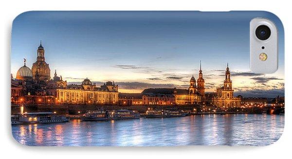 Dresden Skyline Phone Case by Steffen Gierok