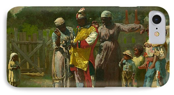 Dressing For The Carnival Phone Case by Winslow Homer