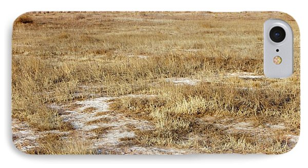 Dried Up Lake Bed From Drought IPhone Case by Ashley Cooper