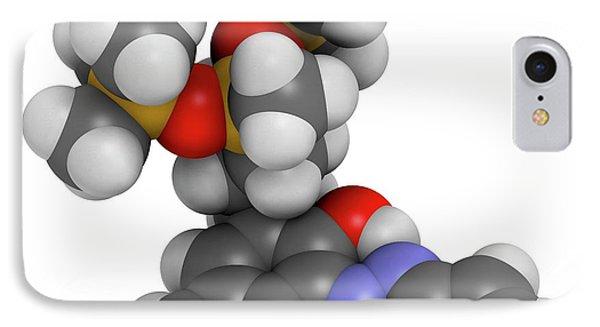 Drometrizole Trisiloxane Molecule IPhone Case