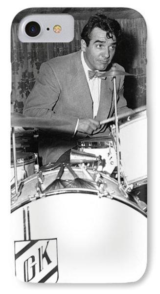 Drummer Gene Krupa IPhone Case by Underwood Archives