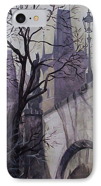 Dusk At The Charles Bridge IPhone Case by Marina Gnetetsky