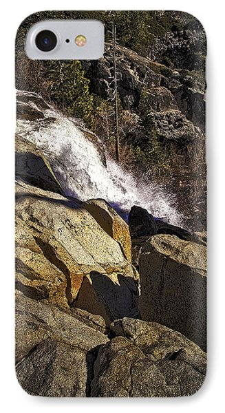 IPhone Case featuring the photograph Eagle Falls by Nancy Marie Ricketts