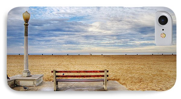 Early Morning At The Beach IPhone Case by Chuck Staley