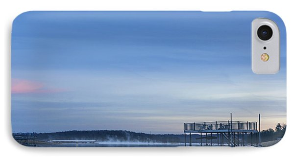 Early Morning At The Lake IPhone Case by Michael Waters