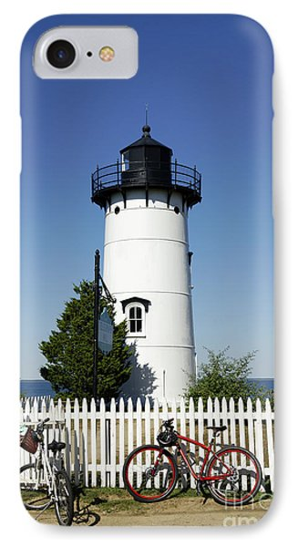 East Chop Lighthouse Phone Case by John Greim