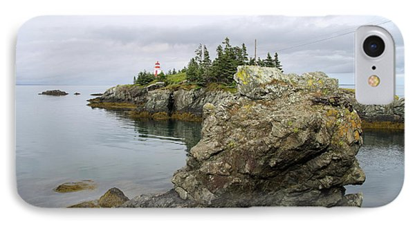 East Quoddy Lighthouse - Campobello Island IPhone Case by Christiane Schulze Art And Photography