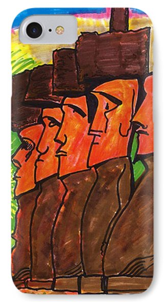 Easter Island IPhone Case