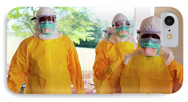 Ebola Prevention Training IPhone Case
