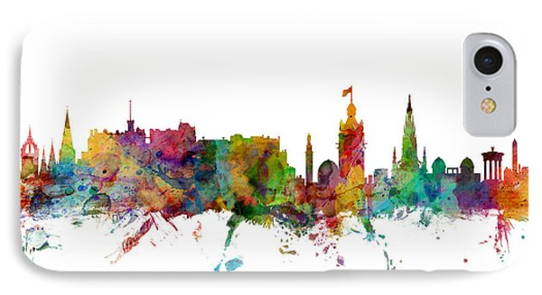 Edinburgh Scotland Skyline IPhone Case