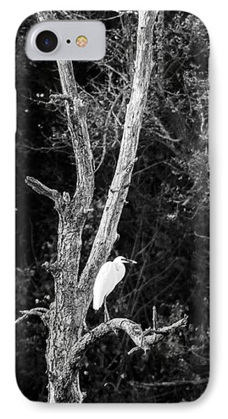 Egret Phone Case by Steven Ralser