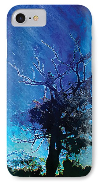 Electric Tree IPhone Case by The Art of Marsha Charlebois