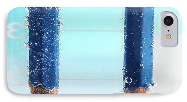 Electrolysis Of Water IPhone Case by Science Photo Library