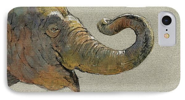 Elephant Head IPhone Case