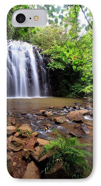 Far North Queensland iPhone 7 Case - Ellinjaa Falls Is One Of Three Scenic by Paul Dymond