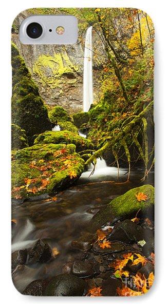 Elowah Autumn IPhone Case by Mike  Dawson