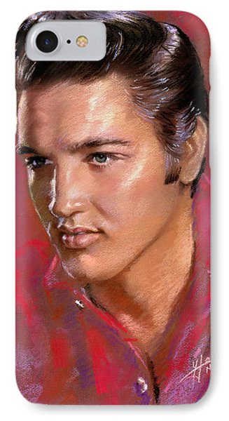 Elvis Presley IPhone 7 Case by Viola El