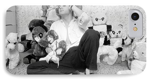 Elvis Presley At Home With Teddy Bears 1956 IPhone Case