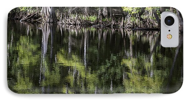 Emerald Reflections IPhone Case by Lynn Palmer