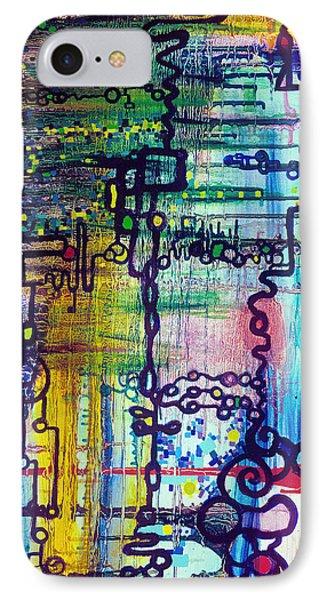 Emergent Order Phone Case by Regina Valluzzi