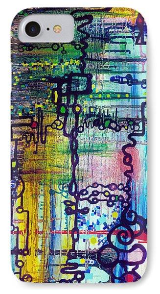 Emergent Order IPhone Case by Regina Valluzzi