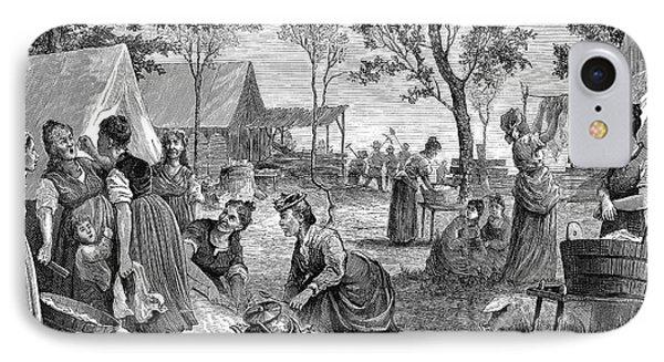 Emigrants Arkansas, 1874 Phone Case by Granger
