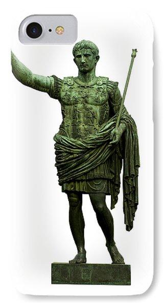 Emperor Caesar Augustus IPhone Case by Fabrizio Troiani