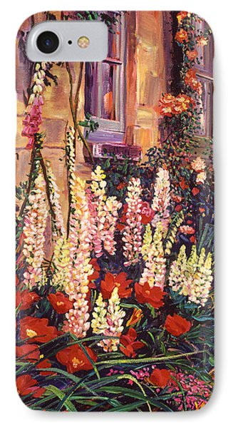 English Cottage Garden IPhone Case