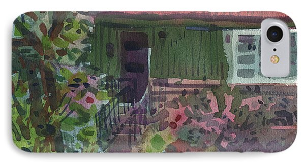 IPhone Case featuring the painting Entrance by Donald Maier