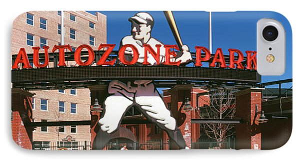 Entrance Of A Baseball Stadium IPhone Case by Panoramic Images