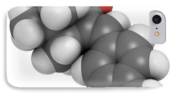 Enzacamene Sunscreen Molecule IPhone Case